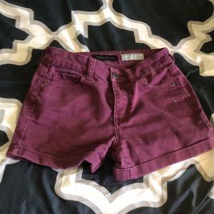 Aéropostale High Waisted Midi shorts